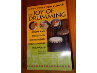 BOOK The Joy Of Drumming Tom Klower Drums Percussion Rhythm Music Therapy Exercises Gong Patterns