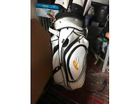 Gold clubs and bag in good condition just need a clean