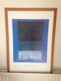 Mark Rothko print
