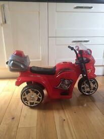 Children's motorised trike