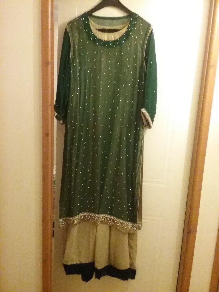 Asian/indian wedding/mehndi dress