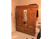 Olympian Pine Wardrobe and 2 matching bedside cabinets for sale
