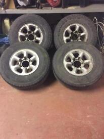 "L200 16"" Wheels & Tyres"