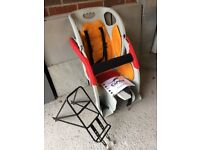 Co-Pilot Taxi Bicycle Child Seat With Rack