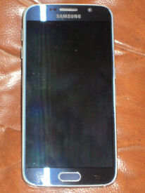 Samsubg S6 Galaxy immaculate condition no cracks unlocked