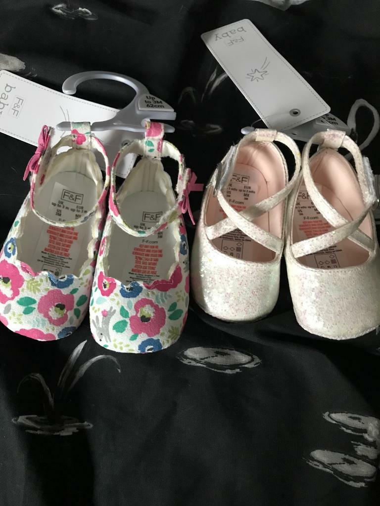 0-3 girls shoes brand new