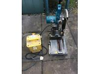 Makita 110 chop saw with 110 box included.