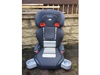 2 weeks old extra padded car seat for 1 to 12 years,converts into a booster,bargain at £35