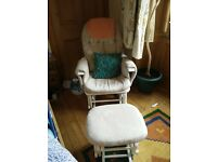 Excellent Condition Nursing Chair & Stool- Tutti Bambini GC35 Deluxe Glider