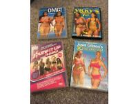 Keep fit dvd bundle
