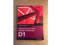 D1 Edexcel A Level Mathematics Textbook