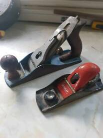 2 x Old Hand Planes