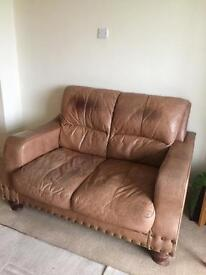 Leather Three Piece Suite for Sale