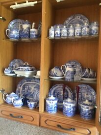 Blue Spode! Collection