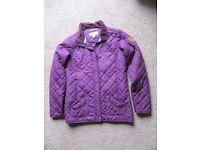 Regatta size 34 Euro 176 purple coat in good condition as in photo