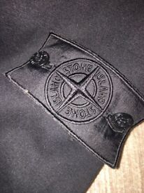 Stone Island Shadow Project Black Badge Hoodie