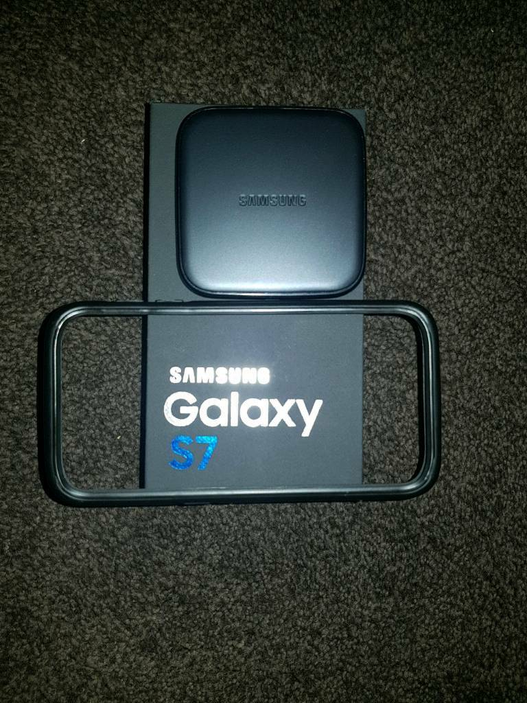 Samsung s7 32gb with extras