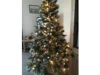 Boxed, sealed and unused Pre Lit 6ft Christmas Tree