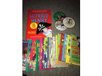 Horrid henry story book collection!