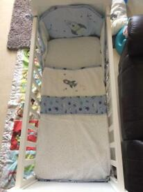 Mothercare space dreamer crib bale