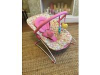 Mothercare baby bouncing chair VGC VGC