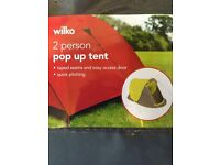 Brand New Two Man Pop up tent and Two Insulated Camping Mats