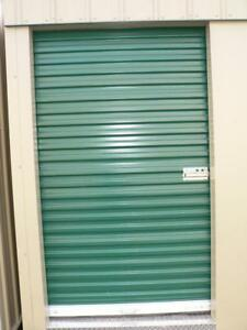 Brand new white roll up doors great for sheds or garage!!  5' x 7' door