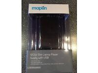 MAPLIN 120W SLIM LAPTOP POWER SUPPLY WITH USB