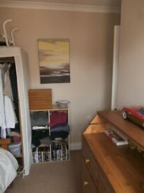 Small furnished double room in quiet location in shared family home