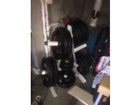 160KGS OF JORDAN OLYMPIC WEIGHT PLATES