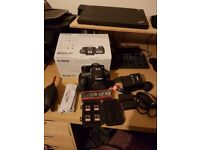 Canon 6D with original battery grip and accessories - excellent condition