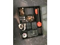 Fishing fox box and end tackle