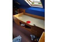 Captains Single Bed 4 drawer