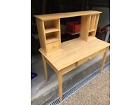 John Lewis Desk and Chair