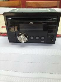 JVC Double Din In-car Audio Player