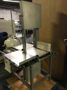 Hobart 6801  vertical meat saw ( like new ! ) retails $15,000+ save $$$  shipping anywhere in Canada !