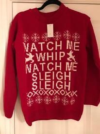 Watch me whip watch me nea Christmas jumper
