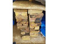 Yellow Stock London Bricks - Old Reclaimed / Second-hand