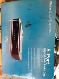 Cisco 8-port gigabit switch