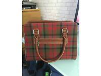 Glen AppinTartan Handbag with Shoulder Strap - MacNaughton Tartan