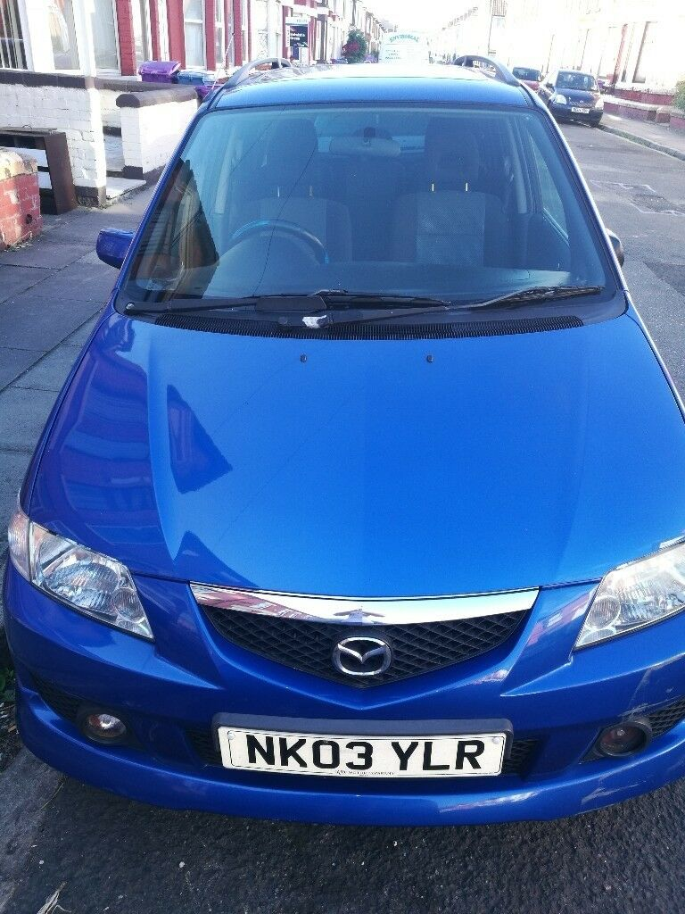 mazda premacy sport 2003 blue in wavertree merseyside. Black Bedroom Furniture Sets. Home Design Ideas