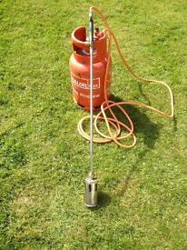 Single Head Gas Torch & Gas