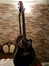 Stagga A2006 electro and acustic guitar