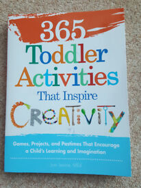 '365 Creative Toddler Activities That Inspire Creativity' - paperback book (like new condition)