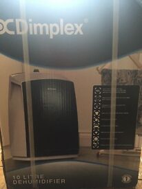 Brand new in unopened box Dimplex Dehumidifier cost £175 will accept £150