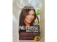 Garnier nutrisse brown hair dye