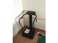 Gym Master Power Plate with manual