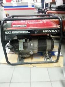 Honda EG6500CL Generator. We sell used Tools. (40529)