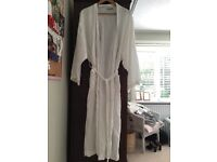 White Antique Designs dressing gown