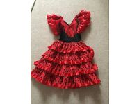 Girls Spanish dress 6 year old